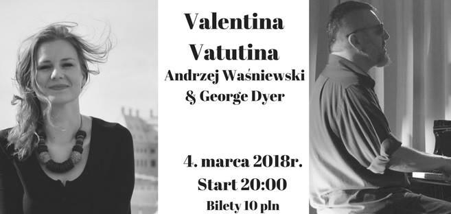 Wieczór Bluesowy: Valentina Vatutina, Waśniewski & George Dyer @ Kolejowa 12 | Wrocław | Województwo dolnośląskie | Polska