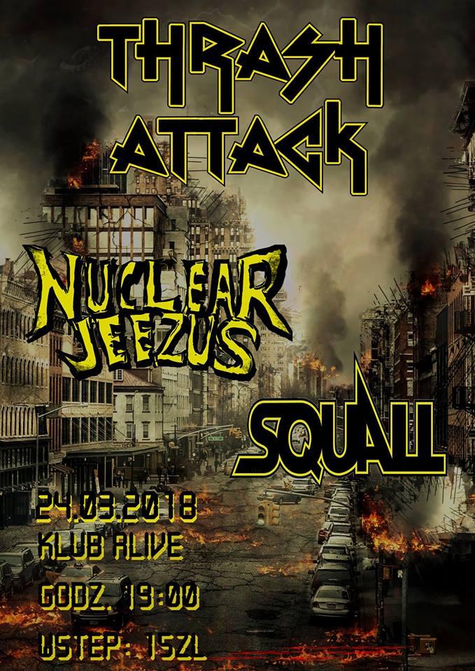 Nuclear Jeezus & Squall @ Kolejowa 12 | Wrocław | Województwo dolnośląskie | Polska