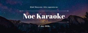 NOC KARAOKE @ KLUB ALIVE | Wrocław | Województwo dolnośląskie | Polska