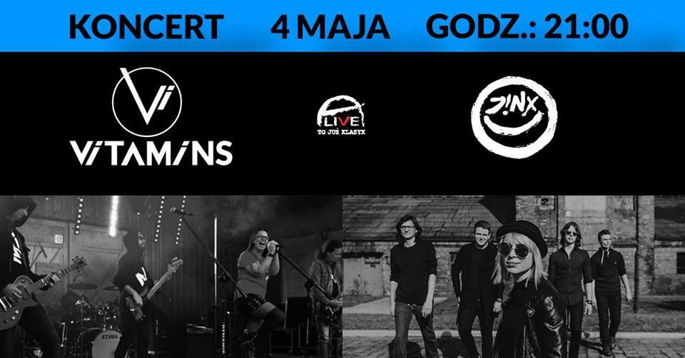 Vitamins + Jinx @ Kolejowa 12 | Wrocław | Województwo dolnośląskie | Polska