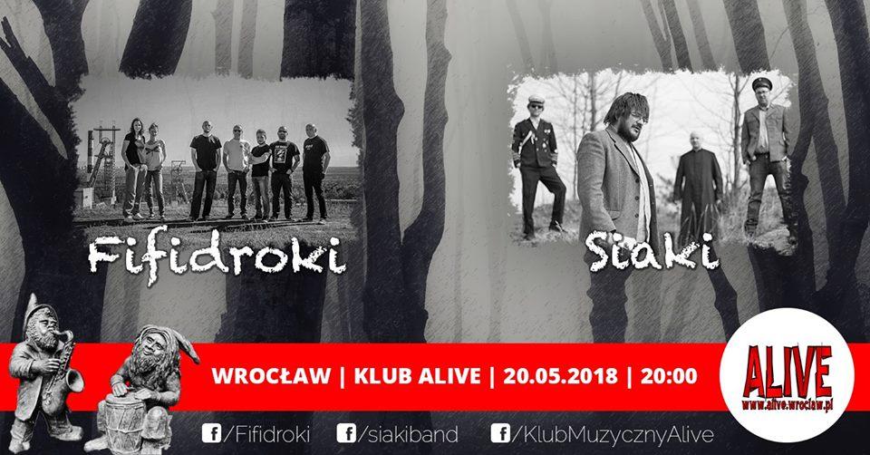 Fifidroki + Siaki @ Kolejowa 12 | Wrocław | Województwo dolnośląskie | Polska