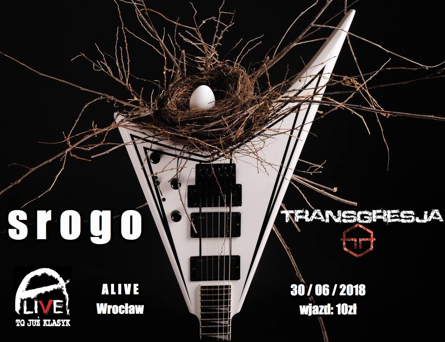 Srogo + Transgresja @ Kolejowa 12   Wrocław   Województwo dolnośląskie   Polska