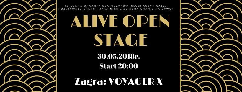 Alive Open Stage: Voyager X @ Kolejowa 12 | Wrocław | Województwo dolnośląskie | Polska