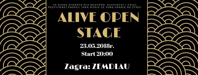 ALIVE OPEN Stage: Zemdlau @ Kolejowa 12 | Wrocław | Województwo dolnośląskie | Polska