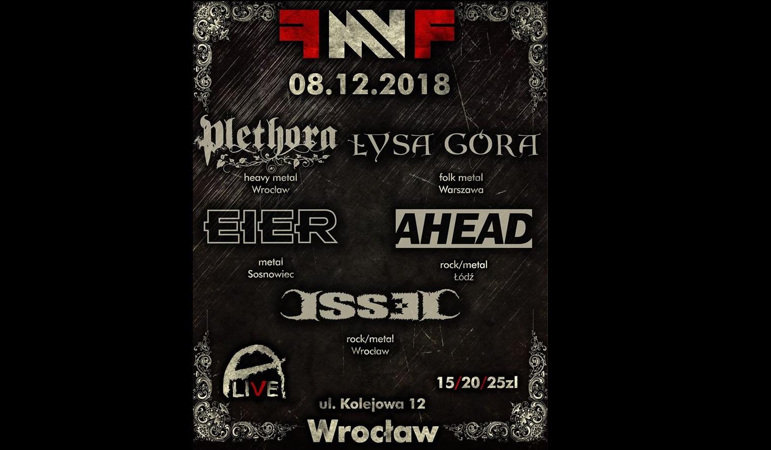 Female Metal Voices Festival vol 3 @ Kolejowa 12