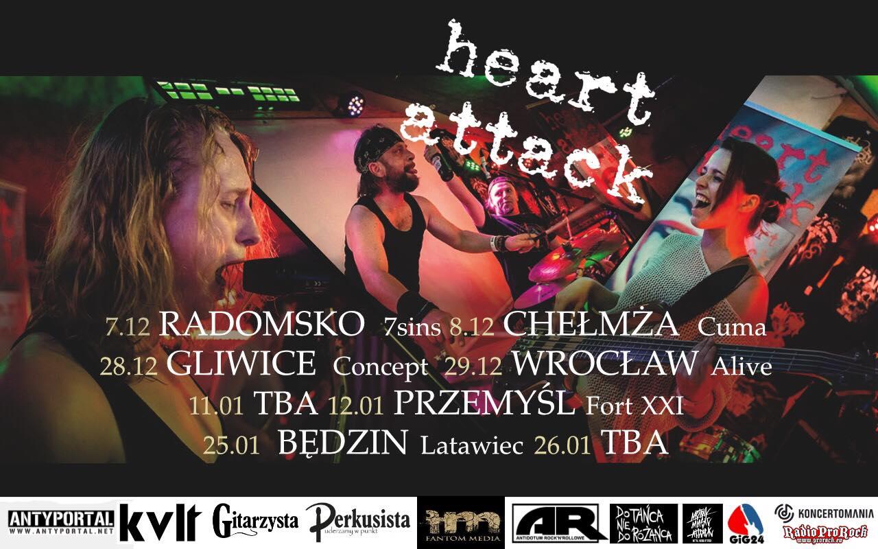 Heart Attack + Goście @ Kolejowa 12 | Wrocław | Województwo dolnośląskie | Polska