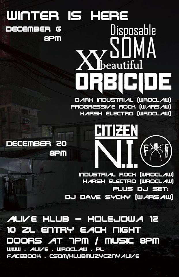 XY Beautiful + Electro Fear + DJ Dave Sychy @ Kolejowa 12 | Wrocław | Województwo dolnośląskie | Polska