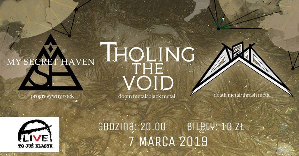 My Secret Haven / Tholing The Void / Nexus @ Kolejowa 12 | Wrocław | Województwo dolnośląskie | Polska