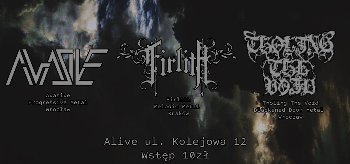 Avasive / Firlith /  Tholing the Void @ Kolejowa 12 | Wrocław | Dolnośląskie | Polska
