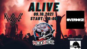 MUDRIDE - OVERDOSE- AVASIVE @ ALIVE | Wrocław | Dolnośląskie | Polska