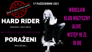 Hard Rider & Porażeni @ ALIVE | Wrocław | Dolnośląskie | Polska